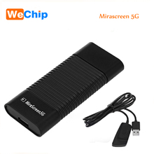 2017 Newest MiraScreen 5G Wireless Display TV Dongle Miracast Airplay DLNA HDMI Receiver Air Mirroring High Speed(China)