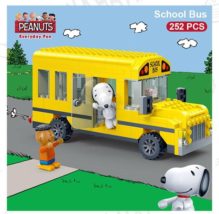 BanBao 7506 School Bus Cars Building Blocks 19