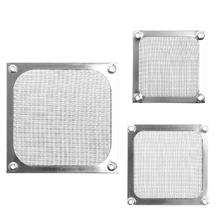 Metal Dustproof Mesh Dust Filter Net Guard 12cm/9cm/8cm For PC Computer Case Cooling Fan#R179T# Drop shipping