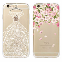 Buy Wedding Bride Lace Dress Floral Soft Clear Phone Case Cover Coque Funda iPhone 7 7Plus 6 6S 6Plus 5 5S SE 5C 4 4S SAMSUNG for $1.43 in AliExpress store