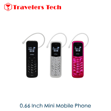 The Smallest Mobile Phone GTstar BM50 0.66Inch Tiny Screen Small Size Cellphone 300mAh Bluetooth SMS