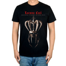 Lacuna  Coil  band  female vocalists gothic metal Broken Crown Halo / Lacuna Coil / Enjoy The Silence album  T-shirt