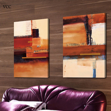 VCC Color Matching Canvas Painting Cheap Modern Paintings Wall Pictures For Living Room Cuadros Decoration Quadros No Frame(China)
