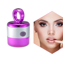 3D ABS Synthetic Sponge Electric Foundation Face Powder Vibrator Puff Sponge Cosmetic Puff Beauty Tools gold  purple