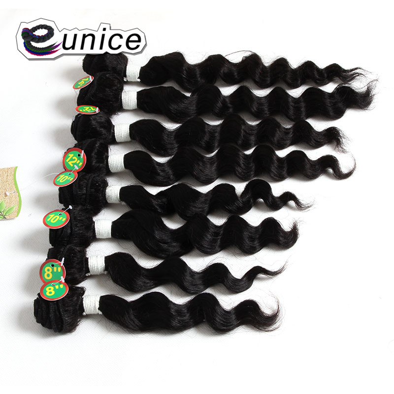 Deep Wave Brazilian Hair 100% Human Weave hair Bundles Weaving  (22)