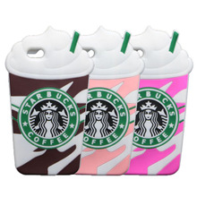 6S 6 Starbuck Cases For iPhone 6S 6 Coffee Cup Silicone Phone Cover