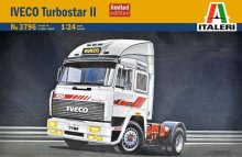 Italeri 3796 Iveco Turbostar II Semi Truck Tractor Model Kit