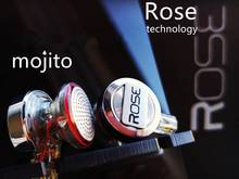 Rose Mojito 3D Ver Dual Dynamic Flagship HiFi Audiophile Detachable Cable Earbud
