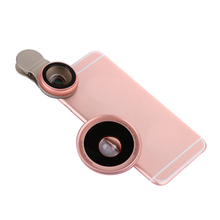YLD HD Lentes Mobile Phone lens 0.6X Wide Angle Lens Cellphone Macro Optical Lenses for iPhone 7 6s Plus Huawei Samsung A5 Asus