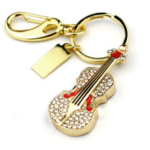 Jewelry Guitar Usb Flash Drive 2.0 Good Quality Pen Drive 32GB Pendrive 64GB Usb Creativo Memory Stick Hard Disk 16GB 8GB Drives(China)