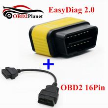 New Released Launch X431 EasyDiag 2.0 Auto Code Scanner Original Launch X431 Easy Diag For Android & ISO Phone With OBD2 16PIN