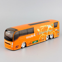 1:50 mini scale 2007 IPCT Tour de France CSC Discovery Channel Rabobank Official Cycling Team bus model cars metal diecast toys(China)