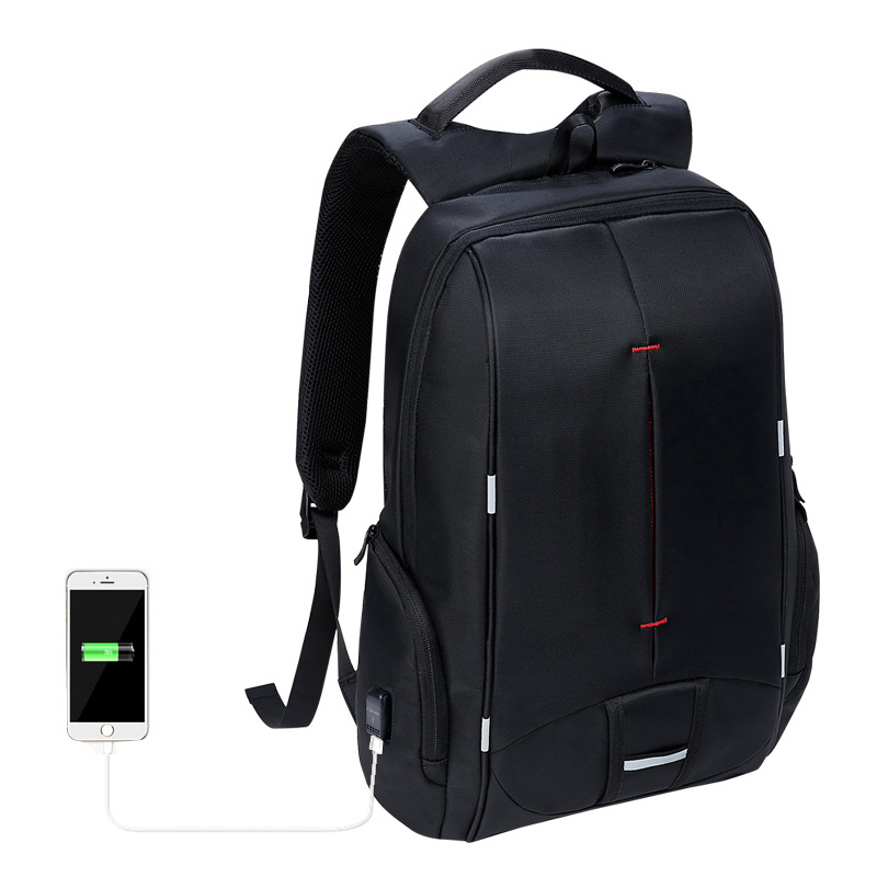 KALIDI 15 inch Waterproof Laptop Backpack Men  for Macbook Computer Rucksack Travel School Bag 15.6inch Canvas Computer Backpack<br>
