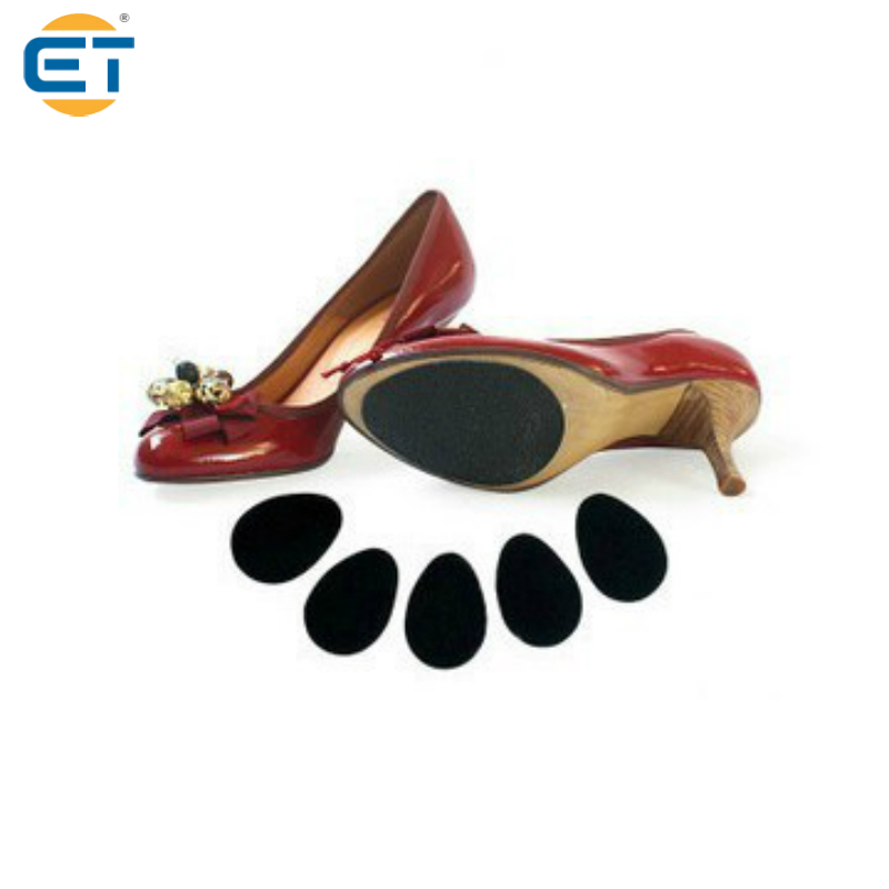10 Pairs High Heel Shoes Inserts with Non Slip Rubber Leather Shoes Insoles Black High Viscosity Half Code Insoles<br><br>Aliexpress