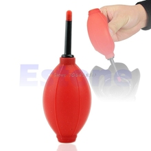 Red Rubber Air Blower Pump Dust Cleaner For Camera Lens CCD CMOS LCD Watch -R179 Drop Shipping