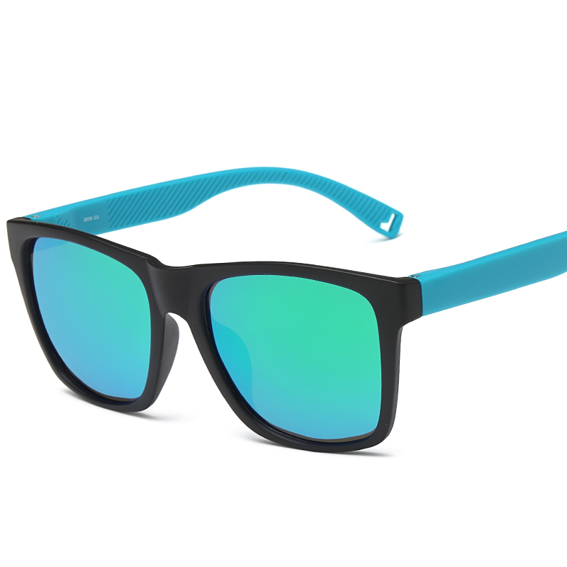 Laura Fairy Cool Outdoor Men Big Frame Square Sunglasses TR90 Color Block Frame Coated Polarized Ray Bain Sunglass 2017<br><br>Aliexpress