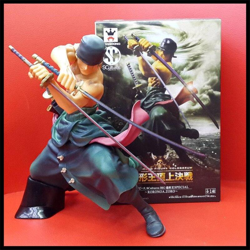 Japan One Piece New World  Anime Figuarts Zero Roronoa Zoro  Action Figure PVC Boxed Limit Model Garage Kits Kids Toys 0110<br><br>Aliexpress