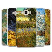 Van gogh coque design Cell Phone Case Cover for Samsung Galaxy J1 J2 J3 J5 J7 C5 C7 C9 E5 E7 2016 2017 Prime