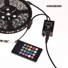 Mini LED Music IR Controller 72W 12V Common Anode Sound Sensitive Music LED Controller for RGB LED Striplight