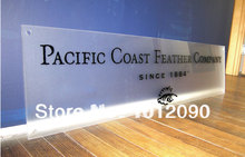 Acrylic Sign  Clear Acrylic table display signs printing  Acrylic AD table display   Acrylic advertise table display