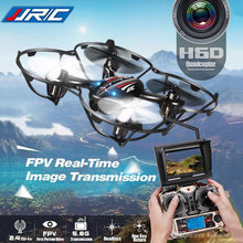 FPV Quadcopters With HD Camera Flying RC Drone JJRC H6D Helicopter Camera Professional Rc Dron Copter Best Toy Gifts(China)