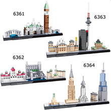 Mini Modulars National Arts Street Venice Budapest Berlin New York City Building architecture  Brick Toys