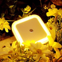 New Fashion LED night light EU US Plug Colors novelty bed lamp For Baby Bedroom Gift Romantic Colorful Lights Sensor Night Light