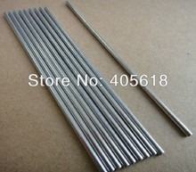 5pcs stainless steel bars 7MM DIA length 200mm stick drive rod shaft coupling connecting shaft building model material