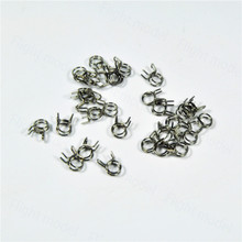 10pcs Fuel Line Oil Air Tube Clamp Hose Spring Clip Fastener 6mm For RC Fuel Model Accessories(China)