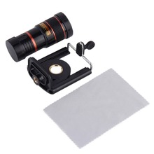 1pcs 8X Optical Zoom Telescope Camera Lens for Mobile Phone for iPhone 4 4S 5 Free / Drop Shipping