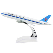 Airplane China Southern B777 Airlines passenger plane alloy model 16CM/6.3in