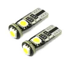 YSY 10pcs/lot T10 W5W 194 168 5050 3SMD Can-bus 3 LED No Error FREE Canbus Indicator 12V DC Auto Lighting roof Light(China)