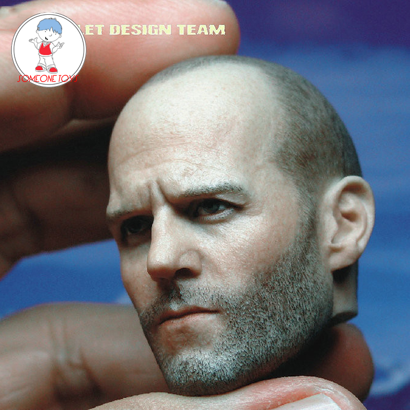 "CUSTOM 1//6th Jason Statham Head Sculpt Fast /& Furious FOR 12/"" male Toys Doll"