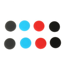 Buy Game Accessories 8Pcs Silicone Thumb Stick Grip Joystick Cap Thumbstick Cover Skin Nintendo Switch Joy-Con Game Controller for $1.18 in AliExpress store