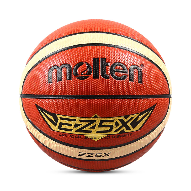 Molten EZ5X Teenager's Basket Basketball Ball Size 5 PU Leather Indoor Outdoor Indoor Game Basketball With Ball Net+Needle(China)