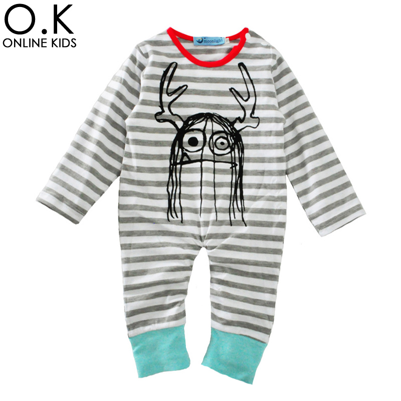 Baby Boy Rompers Jumpsuit Long Sleeve Stripe Halloween Newborn Clothes 2017 Brand Hair Funny Baby Romper For Infant Girl Costume<br><br>Aliexpress