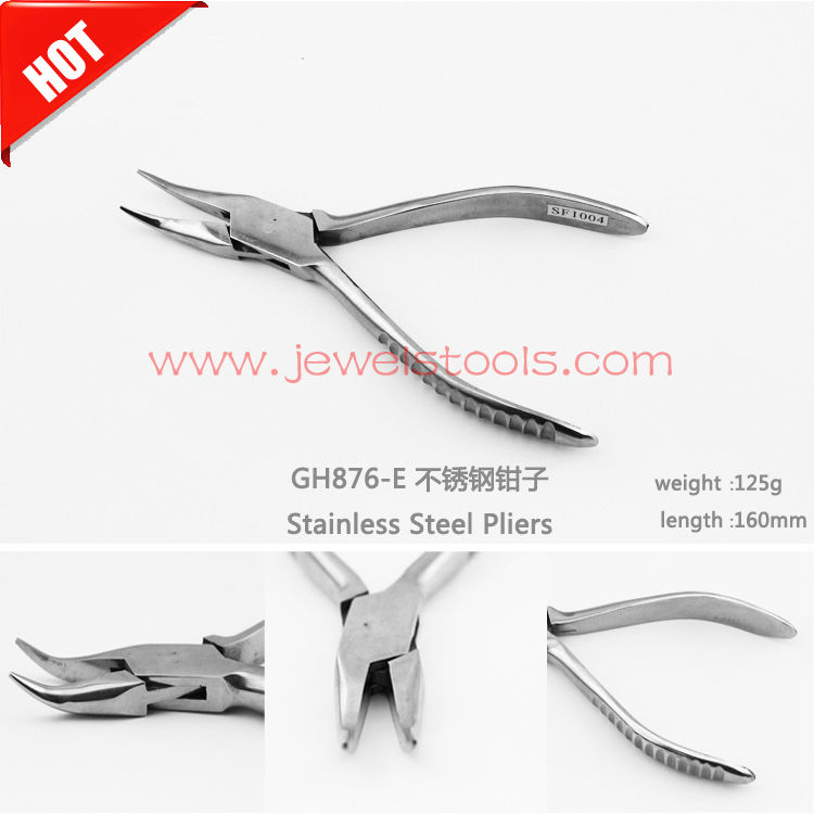 Free Shipping Plier For Jewelry Supllies,Jewelry Making stainless steel Pliers,Clamping repair Cutting nippers<br><br>Aliexpress
