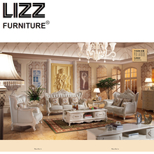 Chesterfield Sofa Royal Furniture Set Living Room Antique Style Sofa Loveseat Armchair Furniture For Home Luxury Sofa Set Chair(China)