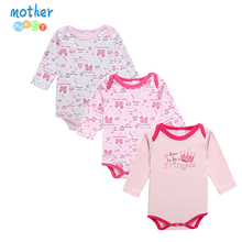 Mother Nest Newborn Romper Infant Long Sleeve Jumpsuits Boys Girl Spring Autumn Clothes Princess Wear Baby Romper(China)