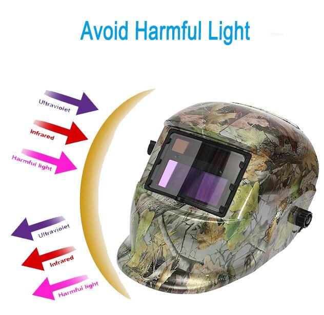 New Stylish High Quality Solar Auto Darkening Welding Helmet / Grinding Welder Welding Mask<br><br>Aliexpress