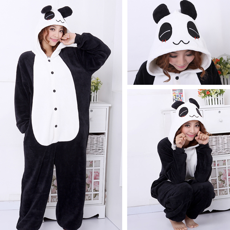panda pajamas adult
