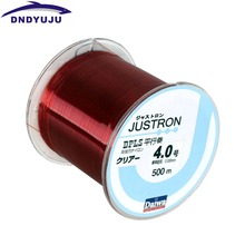 DNDYUJU 500M Nylon Fishing Line Japanese Durable Monofilament Rock Sea Fishing Line Daiwa Thread Bulk Spool All Size 0.4 To 8.0
