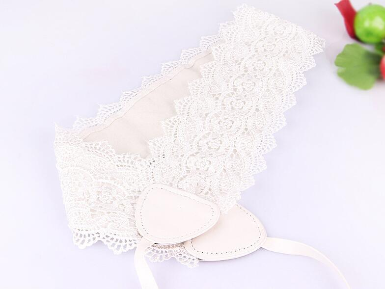 Fashion Lace Up Wide Belts Female Bandage Women's Solid Color Wide Belt bow-tie Accessories for Dress Woman Elegant Wide Girdle