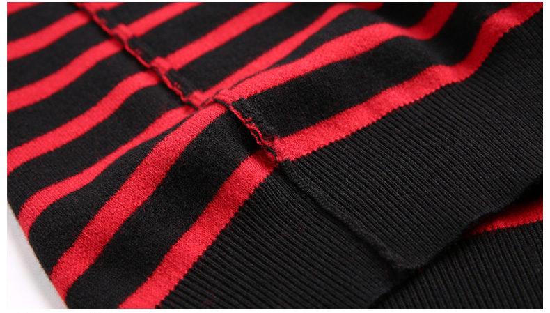 100% Wool sweater men turtleneck striped pure woolen mens sweaters male pullover autumn winter knitwear Brand Muls M-4XL 3126-08