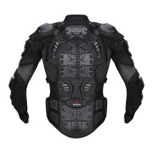 DUHAN Moto Motorcross Racing Motorcycle Body Armor Protective Jacket+ Protective Motorcycle Knee Pad+Gloves One Suit Whole Sale(China)
