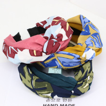 3pcs/lot Contrast Color Braided Headbands For Girls Twisted Turban Knot Floral Hair Bands Hair Accessories For Women