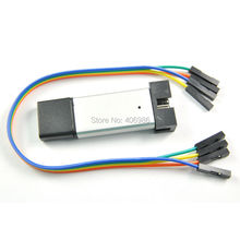 5pcs/lot ST-Link V2 Mini Emulator Downloader st-link Programming V2 stlink Unit STM8 STM32 with Dupond Cable  Random Color