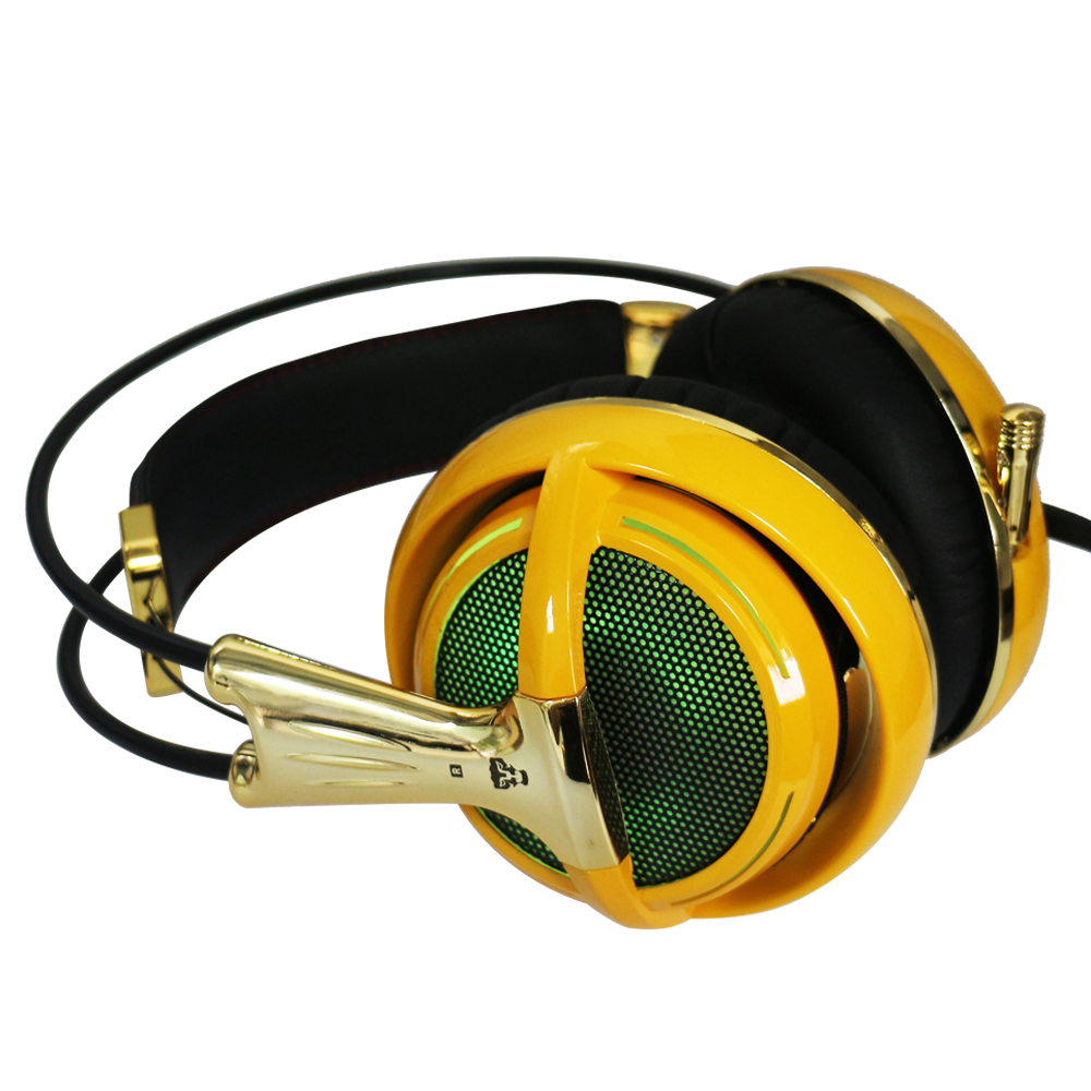 Gold headset 1