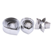 2016 Hot Metal cookie cutters set big rose flower stainless steel tools Home Furnishing products kitchen supplies baking mould