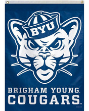 BYU Brigham Young University Throwback Helmet Team American Outdoor Indoor Football College House Flag 3X5 Custom Any Flag